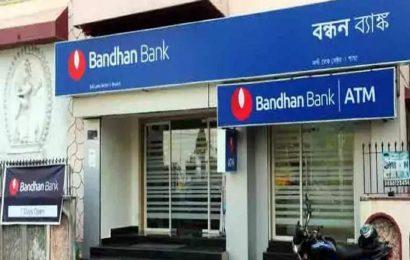 BANDHAN BANK का शेयर 9 फीसदी से ज्यादा फिसला
